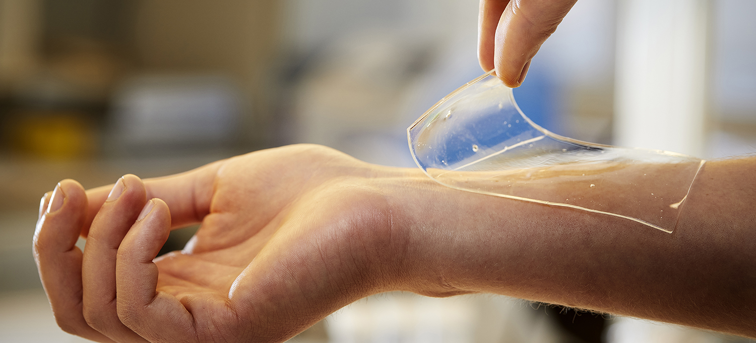 Image of a new material to treat wounds