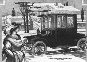 Äldre bil.